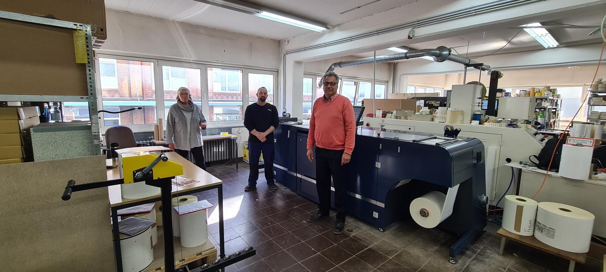 AccurioLabel 230 bei Druckerei Kuhls
